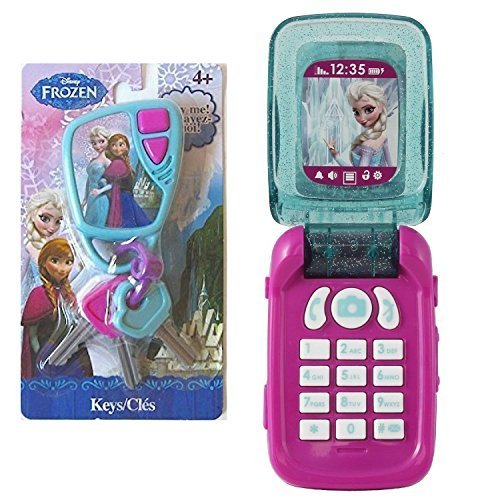 Bundle - 2 Items: Frozen Toy Cell Phone & Car Remote with Keys by Disney  Frozen