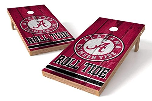 PROLINE NCAA College 2' x 4' Alabama Crimson Tide Cornhole Board Set - Vintage by PROLINE