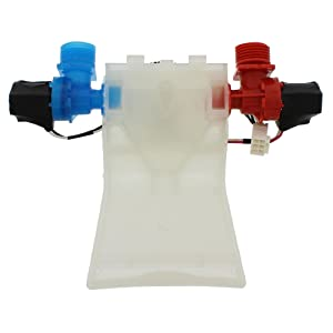 Snap Supply Water Valve for Whirlpool Directly Replaces W10144820