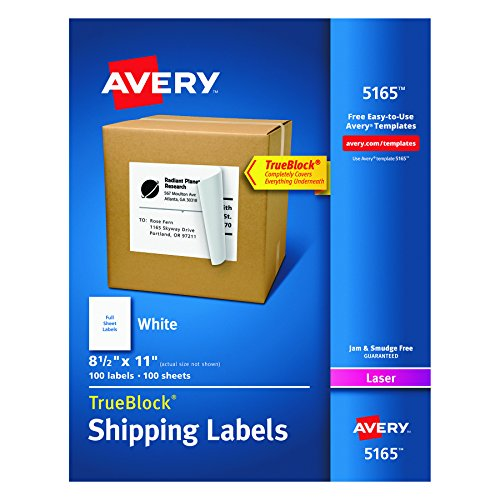 Avery Shipping Labels Laser Printers