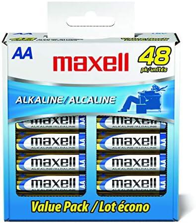 Maxell 20 pk AA Alkaline Batteries