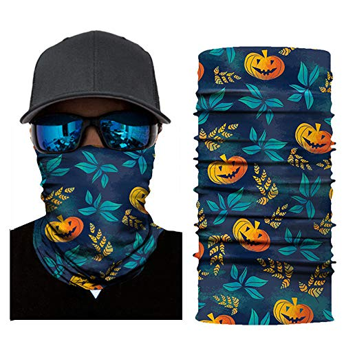 AutumnFall Bicycle Motorcycle Neck Tube Ski Scarf Face Mask Balaclava for Camping,Running,Cycling,Biking,Motorcycling,Fishing,Yard Working and Sun UV Protection (D-2) ()