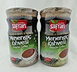 Safran Traditional Coffee Series (Turkish) (Menengic (Pistachio) Coffee 21.16 Oz, Pack of 2)