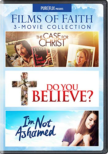 Films of Faith 3-Movie Collection (The Case for Christ / Do You Believe? / I'm Not Ashamed)