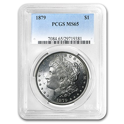 1879 Morgan Dollar MS-65 PCGS $1 MS-65 PCGS
