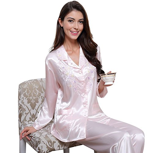 womens-silk-satin-pajamas-set-sleepwear-loungewear-palepink-l