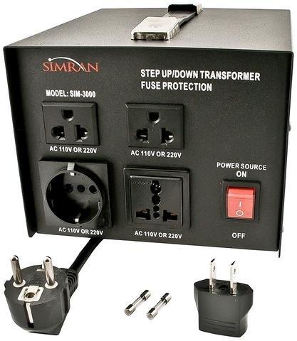 age Transformer AC 110V/220V/240V Step Up/Step Down Voltage Converter (240v Step)