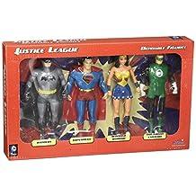 DC Comics Original Justice League Characters Figurine Toy Box Set