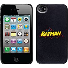 Coveroo Thinshield Snap-On Cell Phone Case for iPhone 4/4S - Batman Logo Yellow Blue