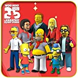 The Simpsons 25th Anniversary 5 Action Figures Series 5 Complete Set (8) NECA by ADVENTURER'S BAG