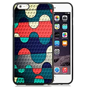 New Personalized Custom Designed For iPhone 6 Plus 5.5 Inch Phone Case For Colorful Puzzles with Holes Phone Case Cover