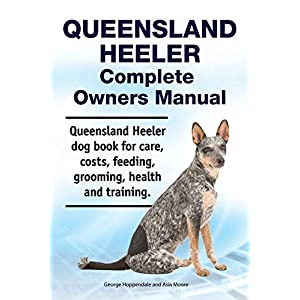 Queensland Heeler Complete Owners Manual. Queensland Heeler dog book for care, costs, feeding, grooming, health and training. 4