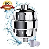 air powered pressure tester - 10 Stage Shower Water Filter For Shower Head - by (AQUALINA) Healthy Hair and Skin - Universal High Pressure Output - Removes Chlorine and Water Impurities - Shower Head Softner -