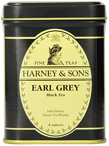 Harney & Sons Black Loose Leaf Tea, Earl Grey, 4 Ounce