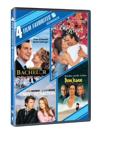 (4 Film Favorites: New Line Romantic Comedies (The Adventures of Don Juan, The Bachelor, Bed of Roses, Laws of Attraction))