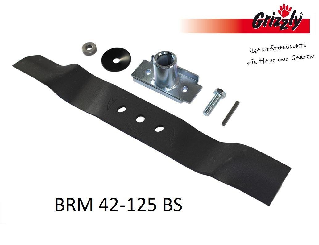Grizzly - Cuchilla de repuesto para cortacésped de gasolina BRM 42 ...