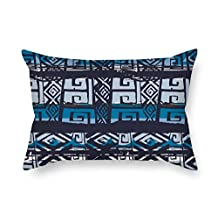 20 X 26 Inches / 50 By 65 Cm Geometry Cushion Covers Two Sides Is Fit For Father Husband Christmas Dance Room Sofa Chair