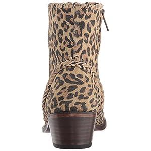 Very Volatile Women's Varela Western Boot, Brown Leopard, 8.5 B US