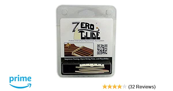 Zero Glide Slotted ZS-7f Electric Guitar Nut System (Package may vary)