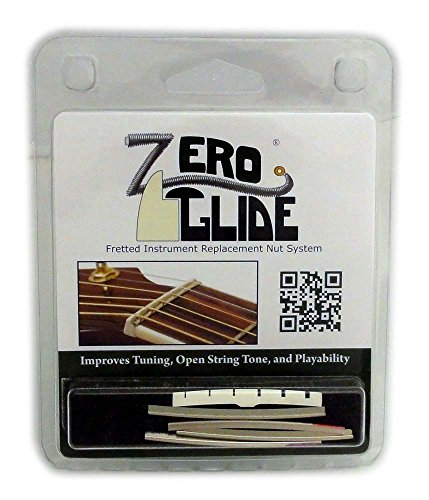 Zero Glide Slotted ZS-7f Electric Guitar Nut System by Zero Glide