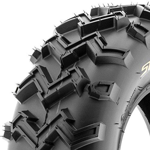 (SunF ATV UTV 21x7-10 All Terrain 6 PR Tubeless Replacement Trail Tire A001, [Single])