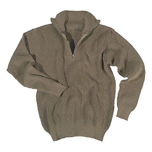 Pullover Troyer 750 g oliv