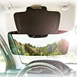 #8: Car Sun Visor Extender by SUNSET – Front & Side Window Sun Shield & Shade for Cars, Trucks & SUVs – 100% UV Protection – Auto Anti-Glare – Reduces Eye Fatigue, Sun Glare – Fully Adjustable
