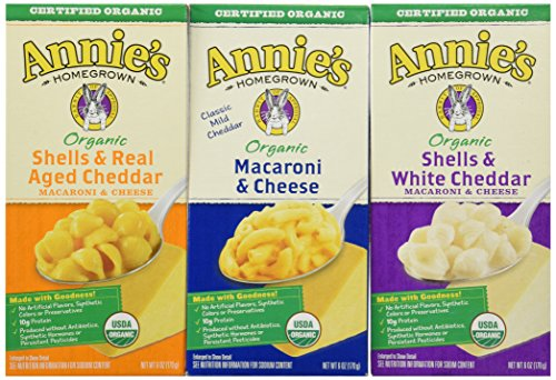 Annies Home Grown Organic Mac & Cheese, - Pasta Annies