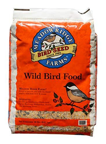 (Meadow Ridge Farms Wild Bird Mix Feed - 20 lbs)