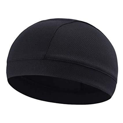Moisture Wicking Cooling Skull Cap Inner Liner Helmet Beanie Dome Cap Men Women