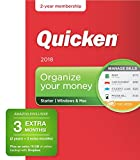 Quicken Starter 2018 Release – [Amazon Exclusive] 27-Month Personal Finance & Budgeting Membership