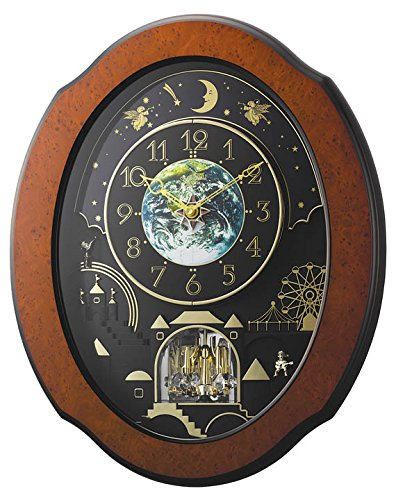 Rhythm Clocks Timecracker Cosmos Magic Motion Clock (Clock Cosmo)