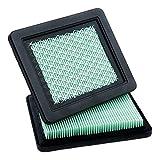 honda gcv190 - HOODELL 2 Pack 17211-zl8-023 Air Filter, Compatible for Honda gcv160 gcv190, Husqvarna 7021p, Premium Lawn Mower Air Cleaner Element
