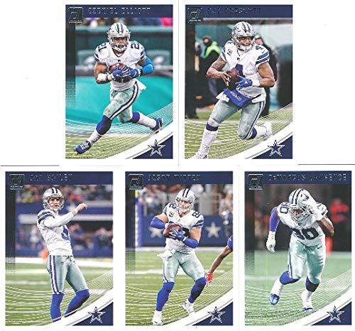 549632e239a Dallas Cowboys 2018 Donruss NFL Football Factory Sealed Limited Edition 14  Card Complete Team Set Dak Prescott