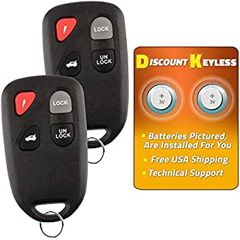Discount Keyless Entry Remote Control Car Key Fob Alarm Clicker Replacement For Mazda 3 6 KPU41846