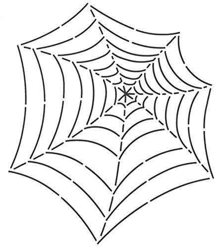 Quilting Creations Spider Web Quilt Stencil, 7-1/2 x 9
