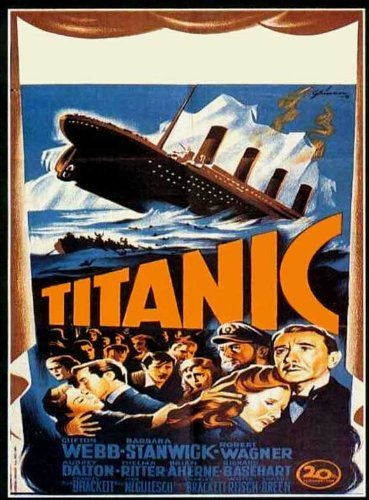 Titanic POSTER Movie