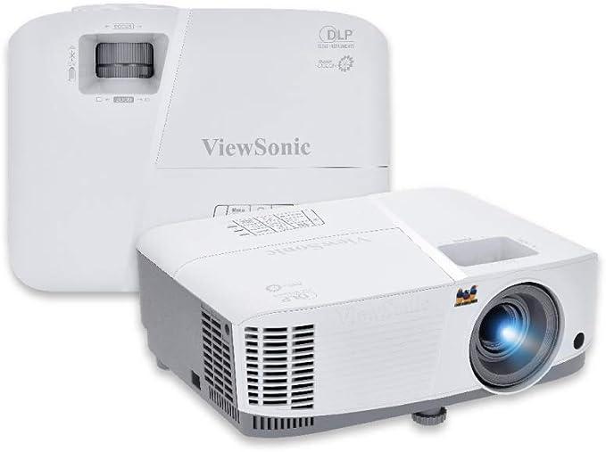 Viewsonic Pg603wbusiness Dlp Beamer Wxga 3 600 Ansi Lumen Hdmi Usb 10 Watt Lautsprecher 1 1x Optischer Zoom Weiß Grau Heimkino Tv Video