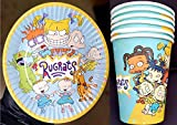 12PC X RUGRATS CUP AND DESSERT PLATES CAKE PAPER