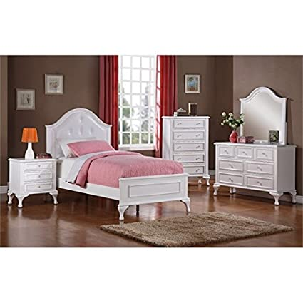Amazon.com: Picket House Furnishings Jenna 6 Piece Full Kids ...