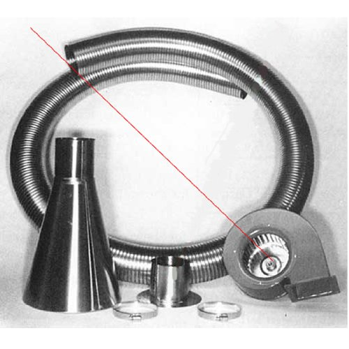 Blower Vent Accessories Hood (Hood and Vent Kits Replacement Parts Blower)