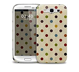 Vintage Polka Dot Samsung Galaxy S3 GS3 protective phone case