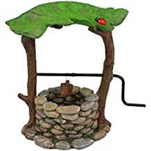 Fairy Garden Supply - Fairy Furniture Collectibles- Stone Wishing Well