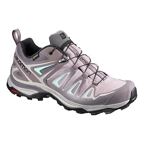 Women''s Gtx Gris Hiking Salomon Shoes Rise 3 Ultra menthe Low vqwxdH7w