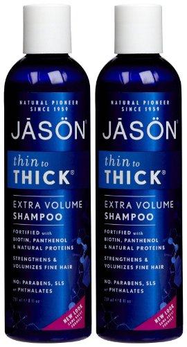 Jason Thin-to-Thick Shampoo - 8 oz - 2 pk ()