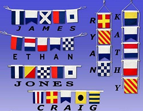 Hampton-Nautical-Letter-A-Nautical-Cloth-Alphabet-Flag-Decor-Home-Decoration-Wall-Art-Tool-20