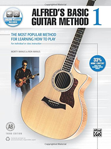 (Alfred's Basic Guitar Method, Bk 1: The Most Popular Method for Learning How to Play, Book & Online Audio (Alfred's Basic Guitar Library))