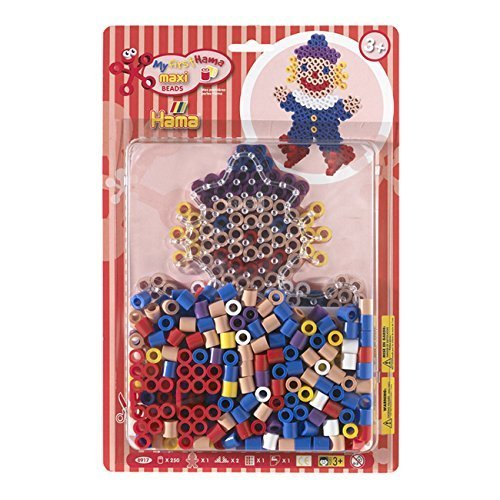 My First Maxi Hama Beads - Clown Starter Kit by Hama