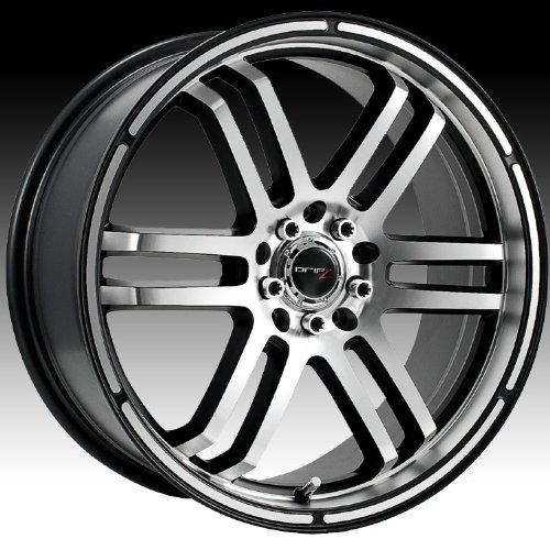 Drifz FX 17x7.5 Silver Wheel / Rim 5x110 & 5x115 with a 38mm Offset and a 73.00 Hub Bore. Partnumber 207MB-7754338 (Cadillac Cts 2006 Rims compare prices)