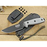 ESEE Knives 4P Fixed Blade Knife w/Handle and Molded Polymer Sheath